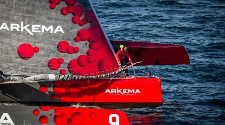 Lalou Roucayrol (FR) Skipper MULTI50 Arkema - 2018